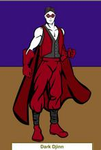 Picture of Dark Djinn in costume
